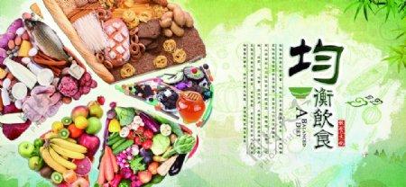 饮食文化均衡饮食图片