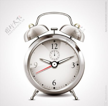 闹钟设计矢量图片