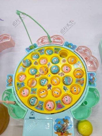 儿童玩具钓鱼图片
