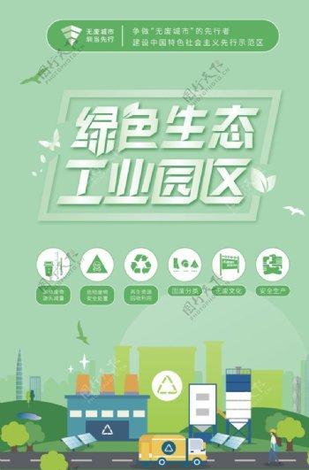 绿色工业区图片