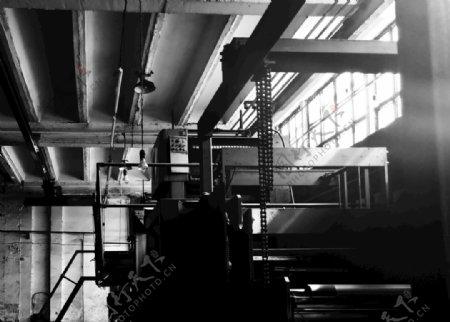 印刷机工业操作图片
