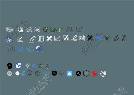 设计施工思维ICON图片