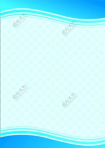 蓝底色蓝色展板背景矢量图图片