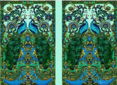 欧式抽象花兰花欧式风格图片