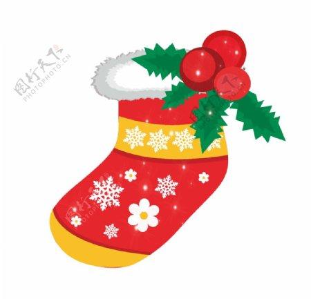 圣诞袜子装饰素材图片