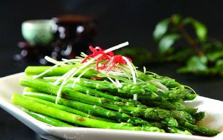 南北热菜白灼芦笋图片