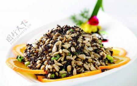 浙菜酥香蚂蚁图片