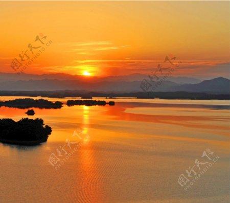 日出日落风景图片