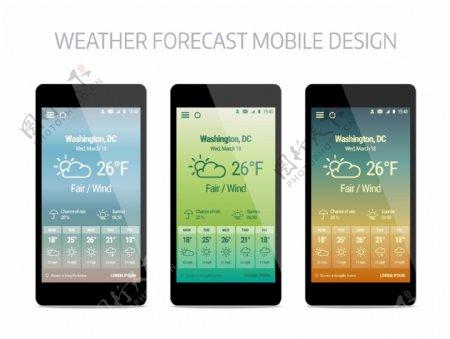 手机页面设计图片