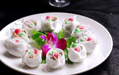 小吃鸳鸯饺图片
