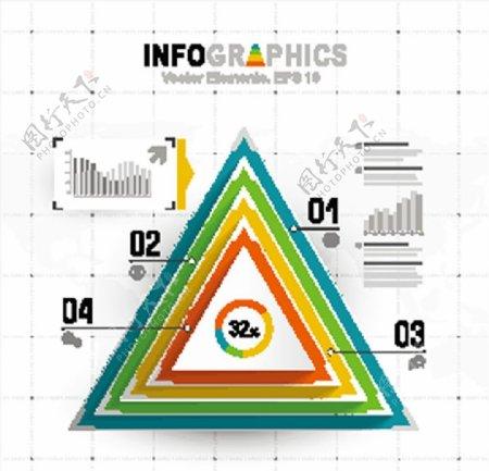 信息图表矢量图片