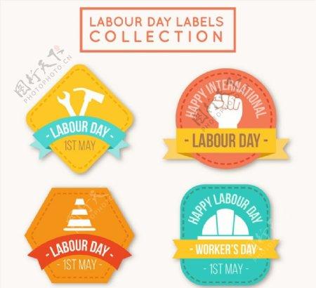 劳动节标签图片