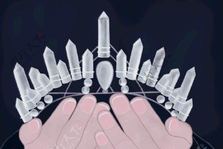 水晶皇冠图片