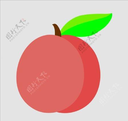 矢量桃子图片
