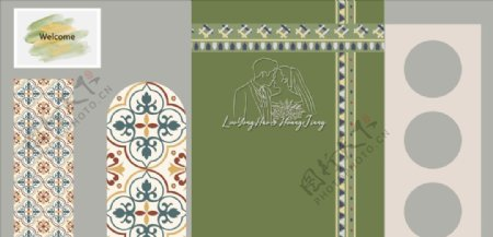 摩洛哥婚礼制作文件图片