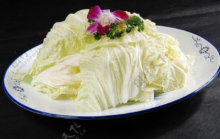 火锅配菜大白菜图片