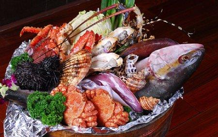 海鲜大丰收图片