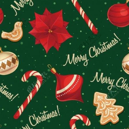 圣诞糖果礼物圣诞树图片