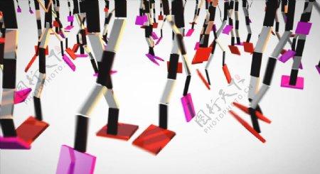 C4D模型动画开关的合页图片