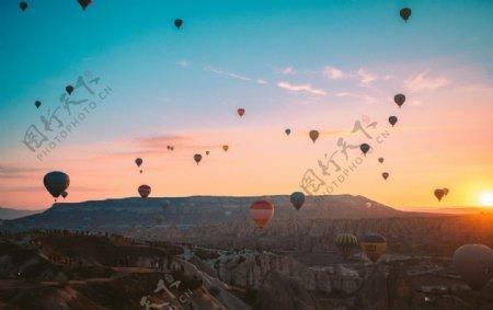 热气球图片