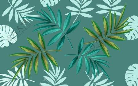 植物树叶背景图片