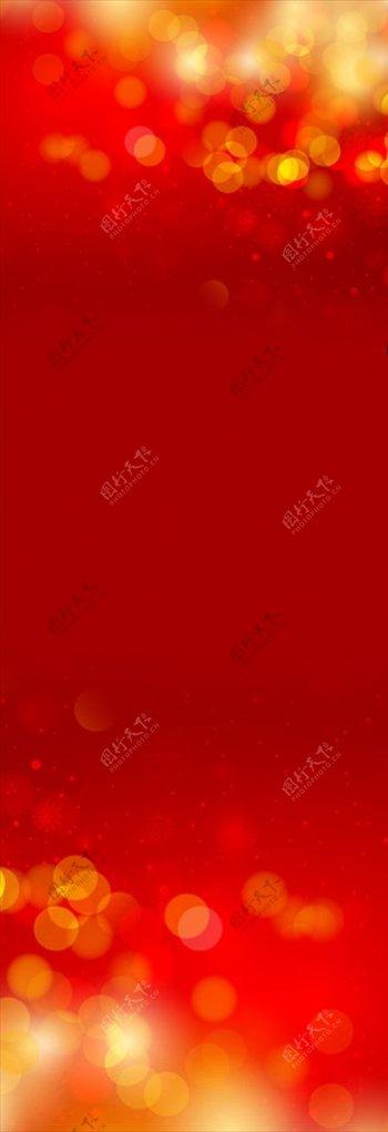 红色展架图片