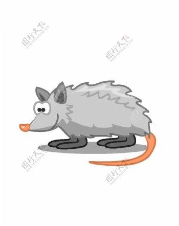 手绘卡通老鼠图片