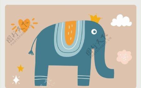 大象上伍图片