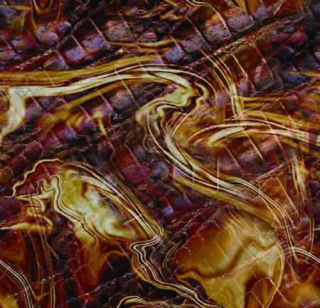 蛇纹数码印花图片