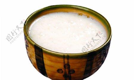 牛奶粥图片