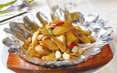铁板鲍鱼菇图片