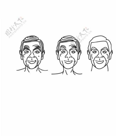 人脸头像图片