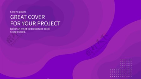 炫彩紫色背景图片