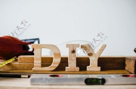 木制DIY背景图图片