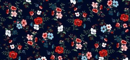 玫瑰花碎花图片
