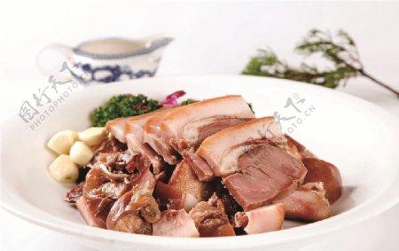 卤猪肉图片