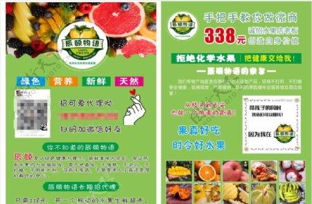辰颐物语水果单页图片