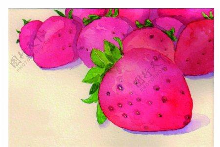 草莓吃货图片