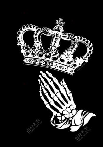 皇冠手图片