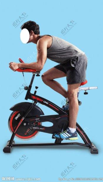 运动男人运动器械图片