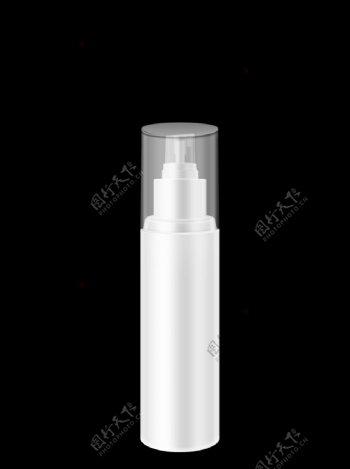 化妆品白模水乳按压泵小喷瓶图片