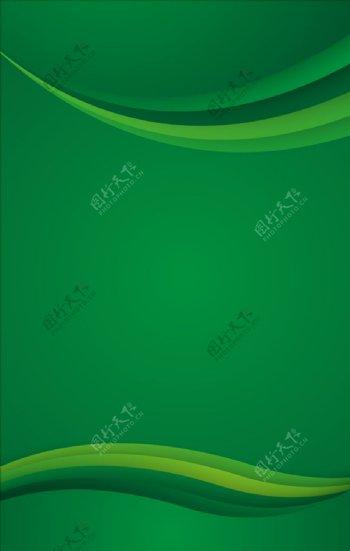 绿色简约展板背景图片