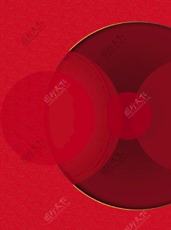 几何红色背景图片