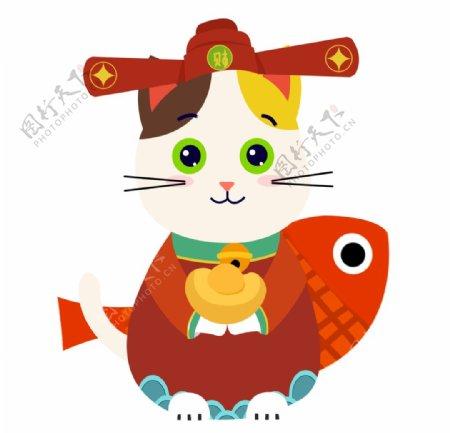 卡通猫咪形象图片