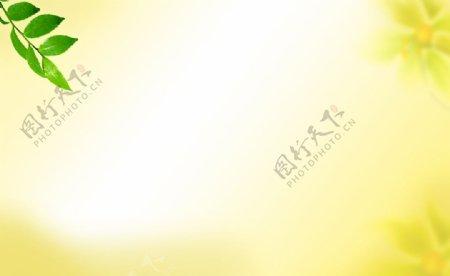 黄色淡雅背景图片