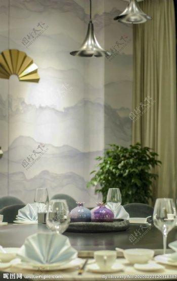 高雅餐厅摄影图片