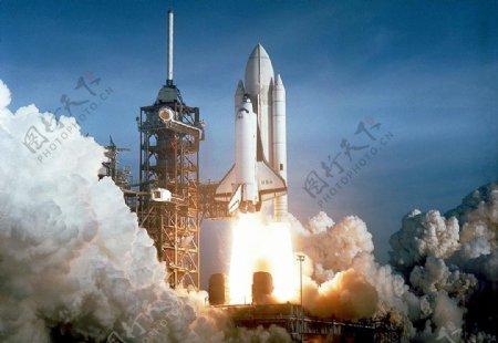 航天器载人火箭航天科技图片