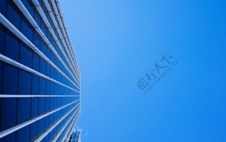 蓝色天空阳光建造企业图片