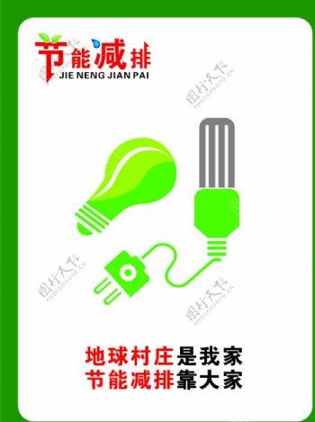 节能减排低碳环保图片