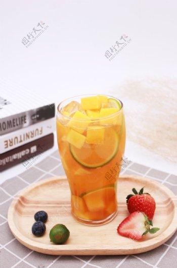 柠檬芒果汁柠檬芒果饮品图片